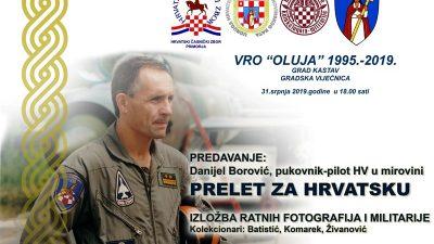"""Predavanje """"Prelet za Hrvatsku"""" i izložba ratne fotografije, odora i opreme sutra u vijećnici grada Kastva"""