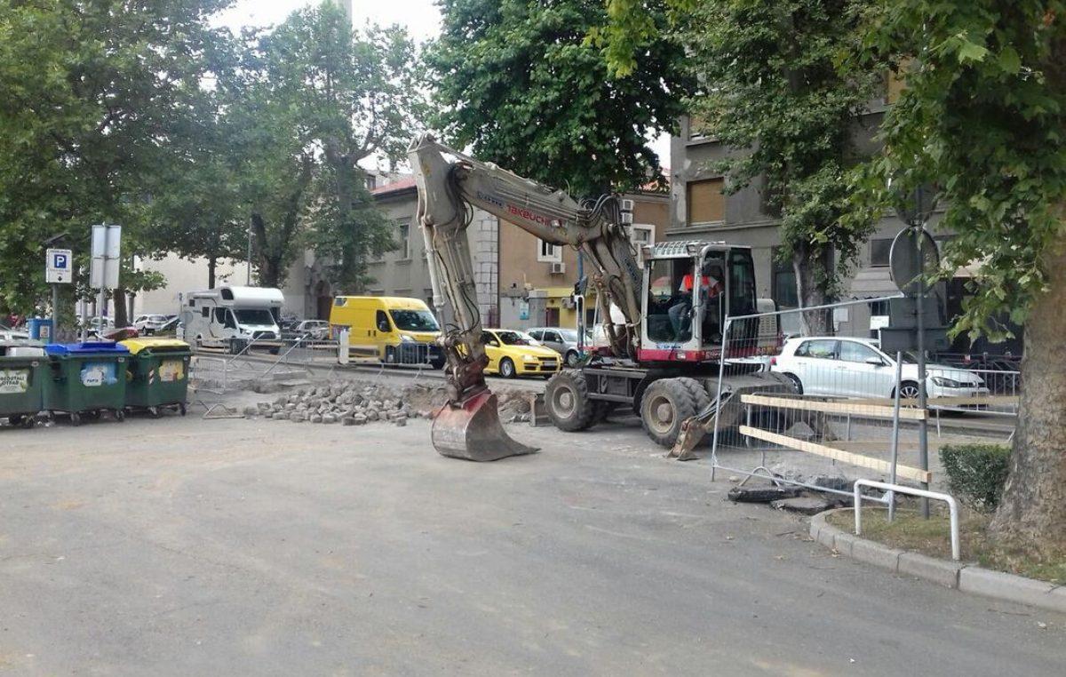 Prekosutra kreće treća faza rekonstrukcije riječke žile kucavice – Radovi na raskrižju Krešimirove ulice s ulicom Milutina Barača