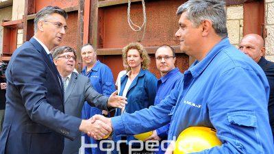 FOTO Premijer Andrej Plenković s ministrima obišao 3.maj