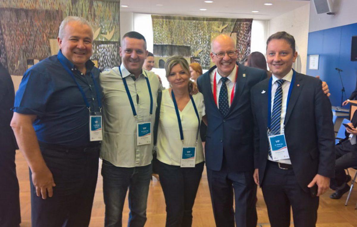 Zamjenik gradonačelnika Nikola Ivaniš i predsjednik Gradskog vijeća Grada Rijeke Andrej Poropat posjetili njemački Rostock