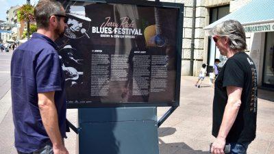 VIDEO/FOTO Izložba posvećena Jerry Ricks Blues Festivalu krasi riječki Korzo