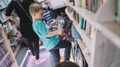 Akcija za djecu i mlade – Sljedeće srijede postanite član Gradske knjižnice Rijeka za samo 25 kuna