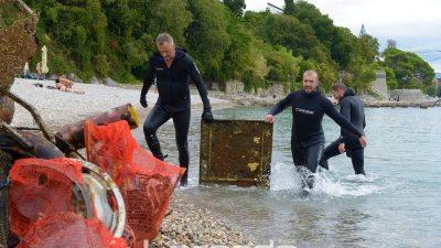 FOTO/VIDEO Eko Prasac VII – Održano sedmo izdanje eko akcije čišćenja podmorja @ Kantrida