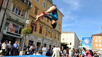 Hrvatski olimpijski dan na Korzu @ Rijeka