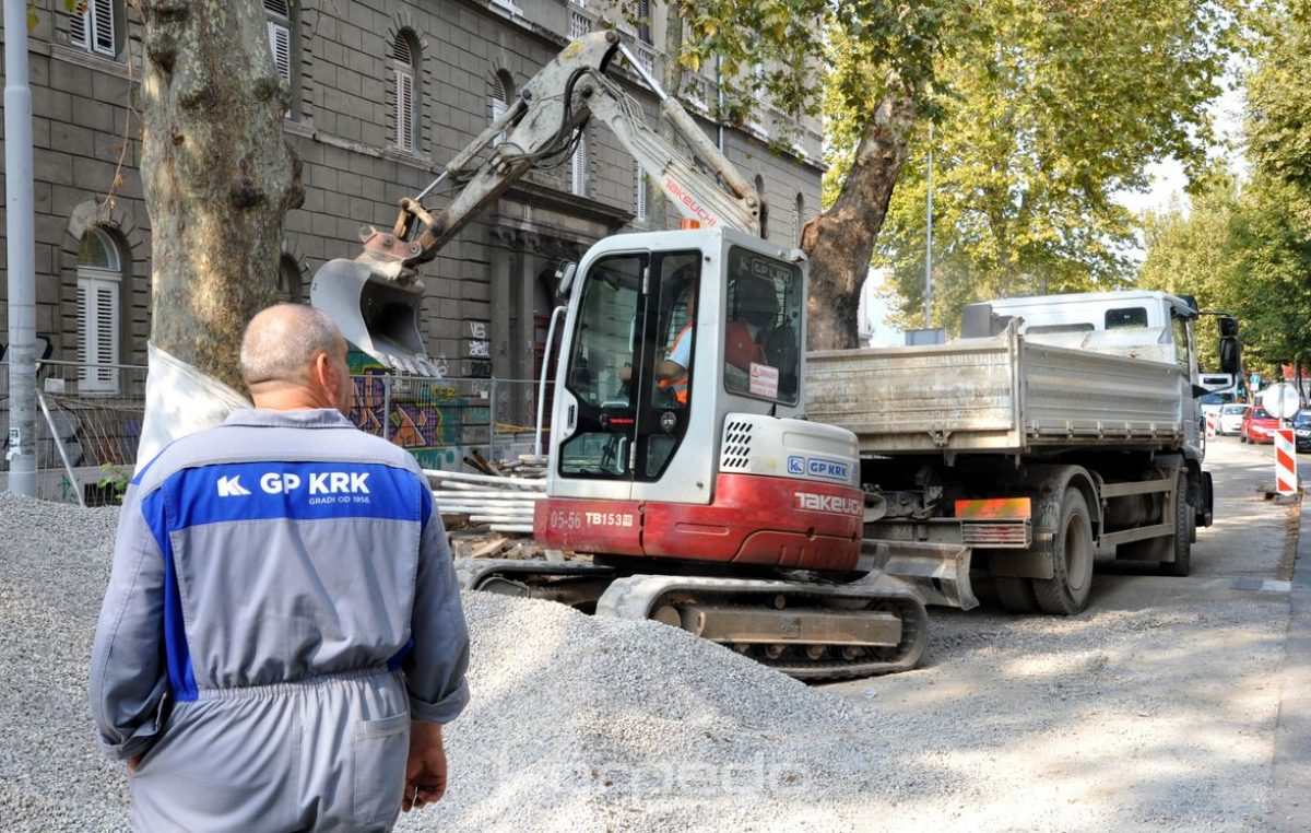 Obersnel o radovima u Krešimirovoj: Duple smjene ubrzale bi realizaciju, ali to nije realna opcija