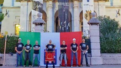 Na stotu obljetnicu D'Annunzijeve okupacije Rijeke na Guvernerovoj palači izvjesili zastavu Kraljevine Italije