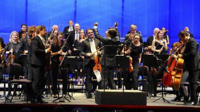 FOTO Spektakularnom izvedbom Brucknerove Devete simfonije otvorena koncertna sezona riječkog kazališta