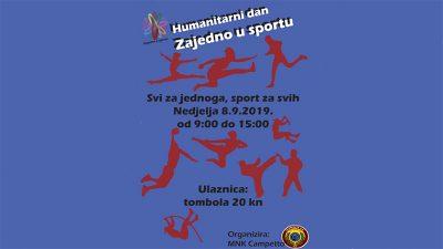 """Ove nedjelje na Omladinskom igralištu humanitarni dan """"Zajedno u sportu"""""""