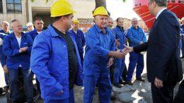 FOTO Premijer Plenković u posjeti riječkom brodogradilištu: Na nama je da omogućimo dugoročnu budućnost 3. maja