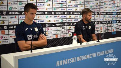 VIDEO Igor Bišćan i Ivan Lepinjica najavili Jadranski derbi – Vjerujemo da uz pomoć navijača možemo do pobjede