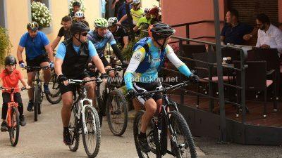 FOTO Belica bike – Tridesetak biciklista pedaliralo Lozom i Lužinom @ Kastav