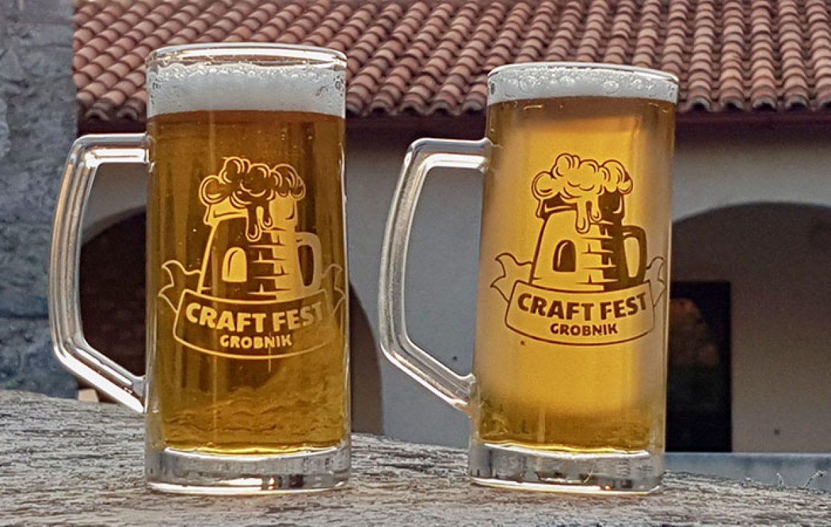 Drugo izdanje Craft Festa ove će subote na Grobničkom kaštelu okupiti ponajbolje proizvođače craft piva Hrvatske i Slovenije