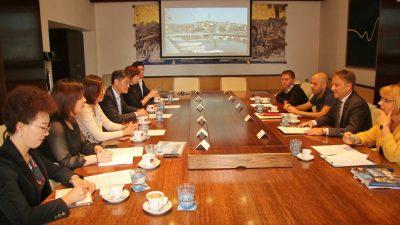 Delegacija kineske grupacije Shanghai Shendi posjetila Rijeku i informirala se o mogućnostima suradnje na turističkim, kulturnim i projektima zaštite okoliša