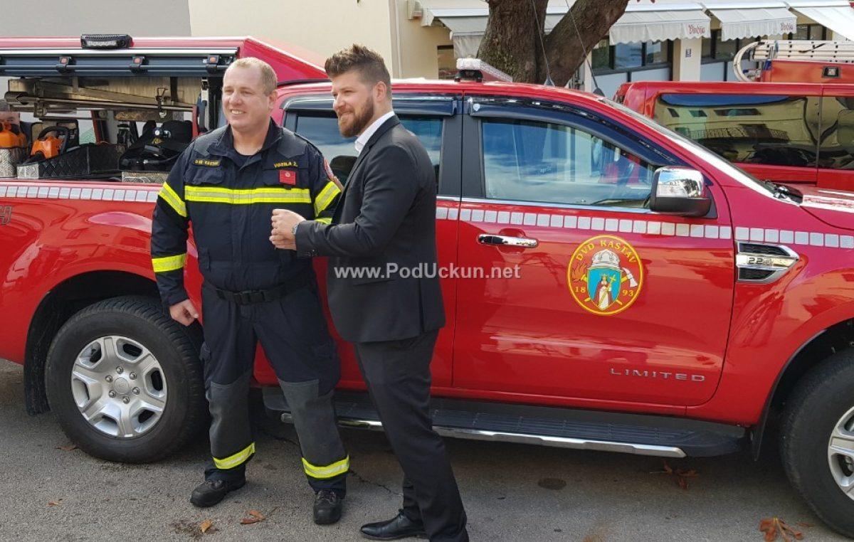 DVD Kastav dobio novo vatrogasno vozilo vrijedno 430 tisuća kuna