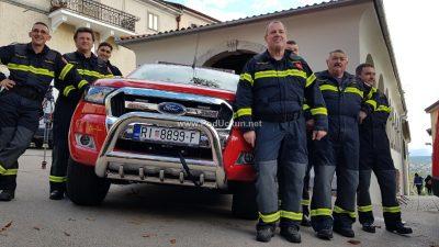 VIDEO/FOTO DVD Kastav dobio novo vatrogasno vozilo vrijedno 430 tisuća kuna