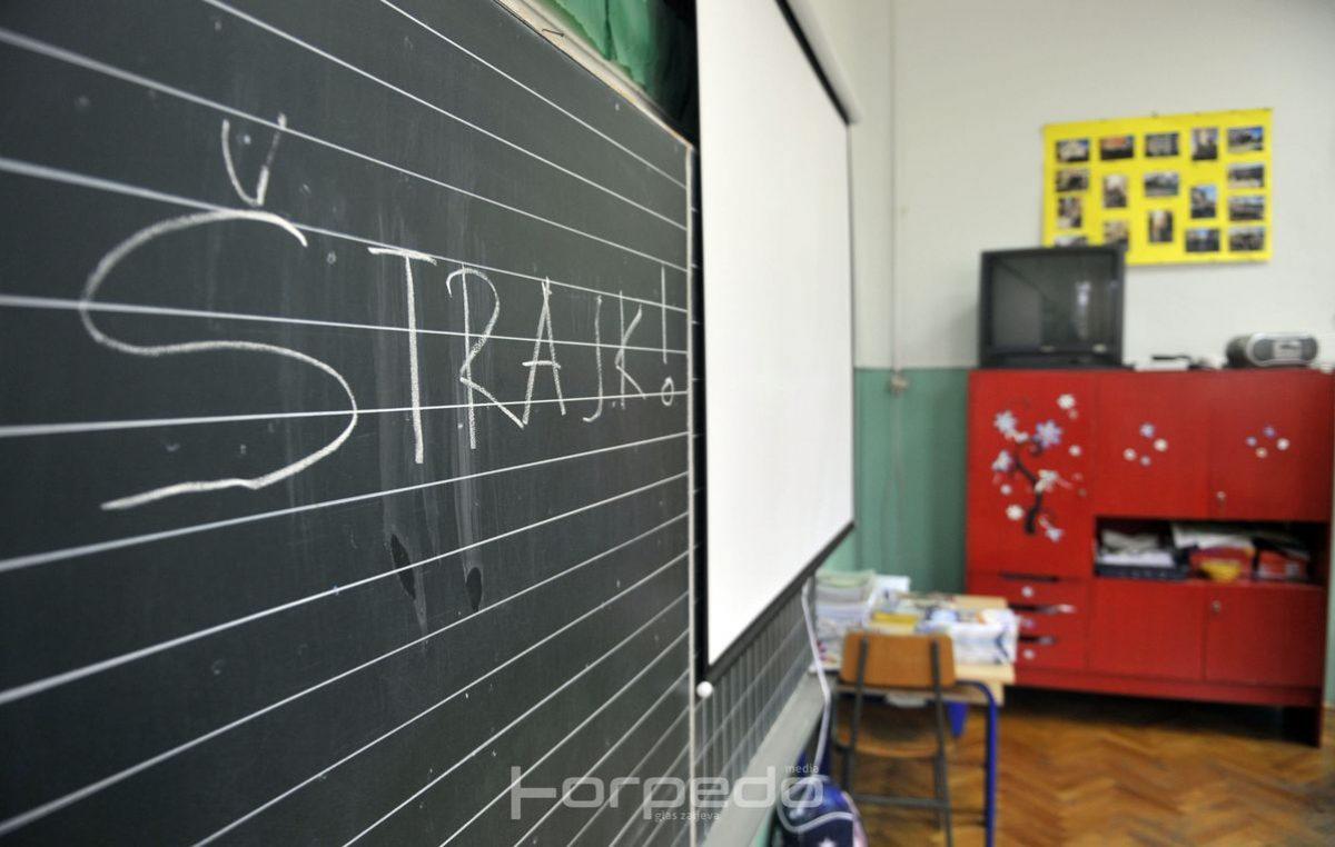 U OKU KAMERE Puste su riječke škole, u štrajku čak 95 posto prosvjetara s područja Rijeke i županije