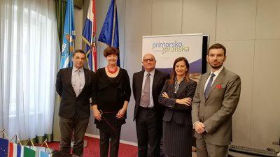 Delegacija Ministarstva vanjskih poslova Talijanske Republike posjetila Primorsko-goransku županiju