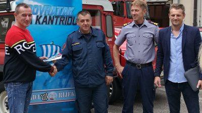 U OKU KAMERE Djelatnicima JVP Rijeka u znak zahvale dodijeljene ulaznice za Povratak na Kantridu