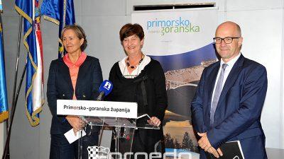 Press kolegij PGŽ – Po povlačenju EU novca naša je županija treća u Hrvatskoj