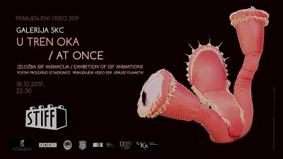 "U sklopu STIFF-a večeras se u Galeriji SKC otvara izložba gif animacija ""U tren oka"""