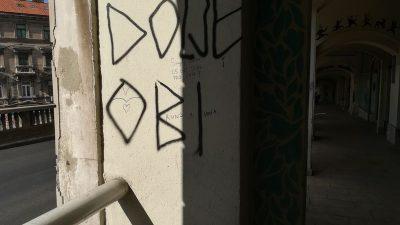 Grafiti kao velik problem Rijeke? Obersnel smatra da policija ne poduzima dovoljno po ovom pitanju