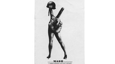 Nagrađivani plakat legendarnog filma M.A.S.H. možete u sklopu izložbe Arsena Roje pogledati u Galeriji Kortil