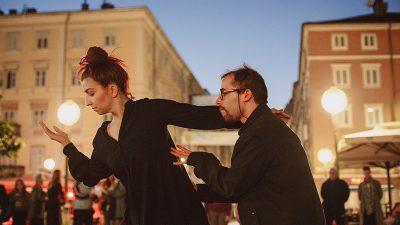 Plesnim programom na Korzu otvoreno četvrto izdanje Periskopa – festivala suvremenog plesa i novog cirkusa