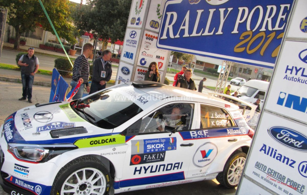 Jubilarno 20. izdanje – Rally Poreč u novom konceptu
