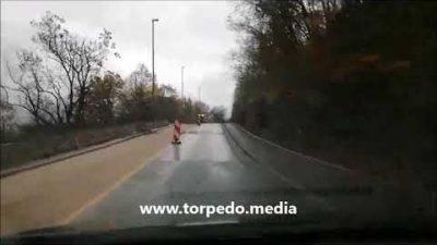 VIDEO Uskoro gotovi radovi na vezi Trsata sa zaobilaznicom: Ulica Kačjak pod novim slojem asfalta