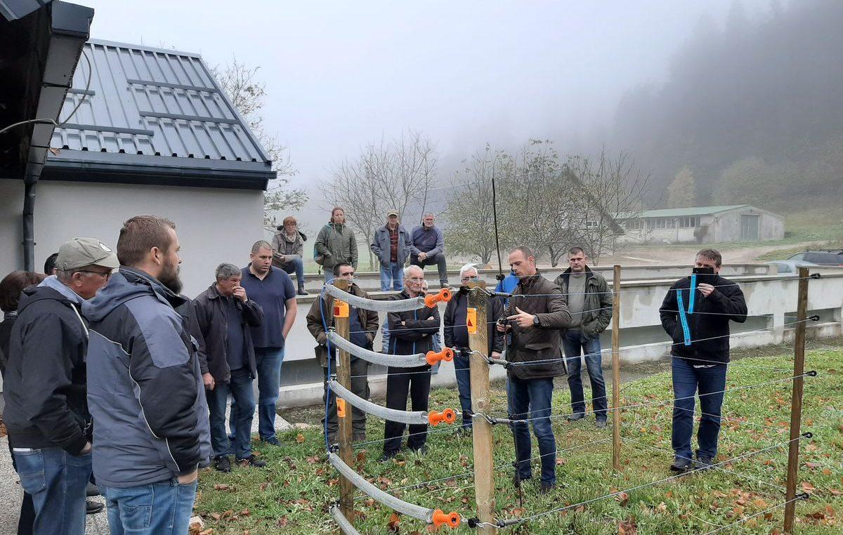 Udrugama pčelara dodijeljeno preostalih 17 kompleta električnih ograda u sklopu projekta CARNIVORA DINARICA
