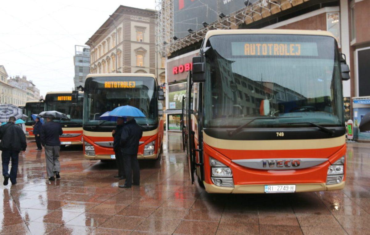 120 godina javnog gradskog prijevoza u Rijeci – Autotrolej prezentirao nove autobuse