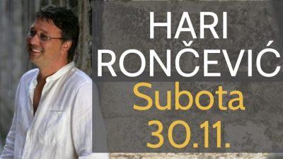 Dijelimo ulaznice za koncert Harija Rončevića u Kraljevici