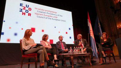 Europa koja povezuje – Rijeka ugostila prvu konferenciju o ciljevima hrvatskog predsjedanja EU