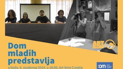 Filmovi polaznika video-filmske radionice Doma mladih ove srijede na programu Art kina