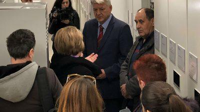 Komadina sa suradnicima obišao novouređene prostore Županijskog arhiva