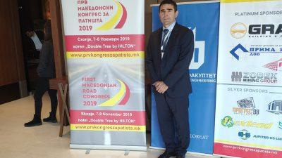 Ljudevit Krpan predstavljao PGŽ na Prvom makedonskom kongresu o cestama u Skopju