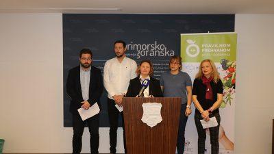"""Primorsko-goranska županija – Predstavljeni projekti """"Pravilnom prehranom protiv dijabetesa"""" i """"Vještine za zdravlje"""", te aktivnosti povodom obilježavanja Svjetskog dana dijabetesa"""