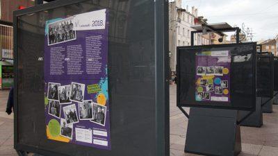 """Povodom nadolazećeg Međunarodnog dana volontera na Korzu postavljena izložba """"Volonteri godine"""""""