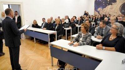 U OKU KAMERE Predavaona Pomorskog fakulteta dobila ime doajena geografije i profesora Nikole Stražičića