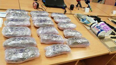 """U policijskoj akciji kodnog imena """"Kvarner"""" oduzeto više od 9 kilograma droge"""