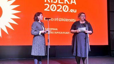 Irena Kregar Šegota nova je direktorica Rijeka2020 – Emina Višnić razriješena funkcije