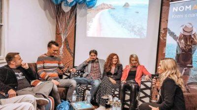 """FOTO Kruzovi održali putopisno predavanje """"Kako i zašto putovati s djecom"""" @ Zagreb"""