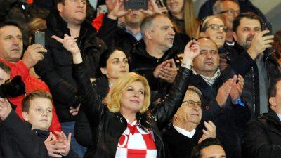 Utakmicu protiv Slovačke pratilo 8.100 navijača i brojne javne osobe, sve prošlo bez incidenata