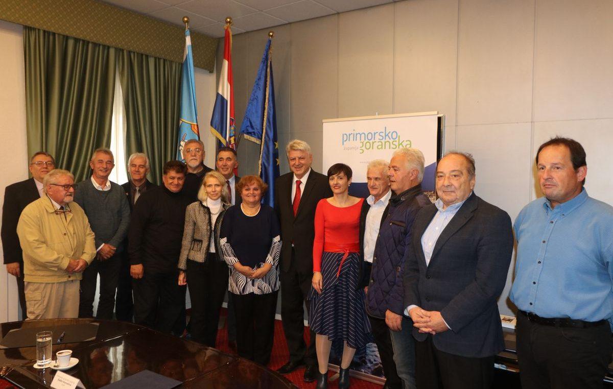 Potpisani Ugovori o financiranju rada vijeća i predstavnika nacionalnih manjina u Primorsko-goranskoj županiji