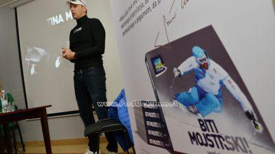 Poznati skijaški trener Sandi Murovec predstavio knjigu i film @ Kastav