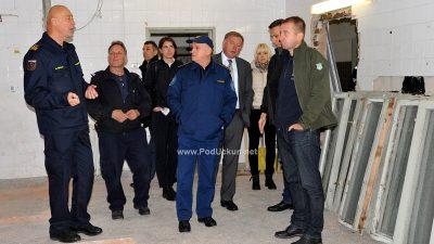 FOTO Radovi vrijedni tri milijuna kuna: Vatrogasci dobivaju bolje uvjete u trening centru Šapjane