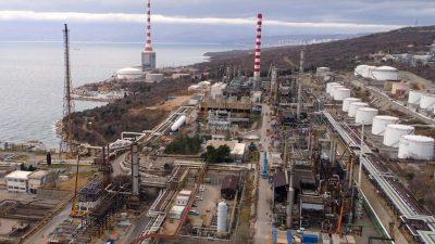 Rafinerija nafte Rijeka obustavlja rad procesnih postrojenja: Sljedećih dana moguće pojačano dimljenje