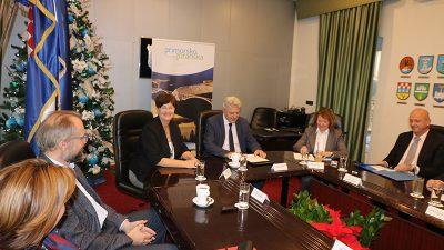 Sastanak župana Komadine sa ravnateljima zdravstvenih ustanova PGŽ