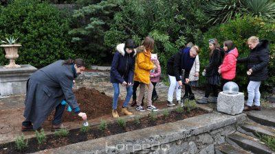 FOTO Villa Ružić privukla brojne građane na tradicionalnu inauguraciju jaslica i kićenje Petrarkinog ružmarina