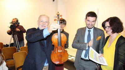 Stradivarijeva i Guarnerijeva violina zvijezde izložbe o Franu Kresniku koja se sutra otvara u Guvernerovoj palači